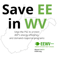 #SaveEEinWV graphic
